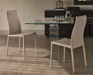 Maya Flex Leather Dining Chair