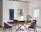 Millennium Barrel Wood Dining Table - Made in Italy