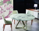 Millennium Super Marble Round Dining Table