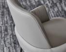 Belinda ML leather Carver Dining Chair