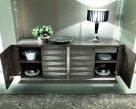 Monaco 4 Door High Gloss Sideboard