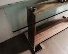 Monaco Console Table - Wood Base