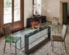 Monaco Dining Table - Dark Oak Base Rectangular Top