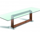 Monaco Dining Table - Canaletto Walnut Base