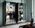Noir 2 Door Cabinet