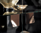 Mont Noir 2 Door Cabinet - Glass Doors