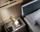 Nora Bed - Headboard with Backlight