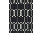 Patio Black Rug - Patterned rug - Asiatic