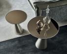 Peyote Titanium Cattelan Italia Side Table