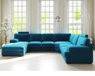 Piero Large Fabric Corner Sofa