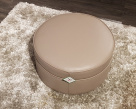 Pluto Leather Footstool