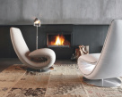 Ricci Designer Chaise - Closed