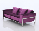 Rouche Fabric Sofa