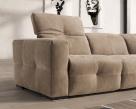 Savanna Fabric Corner Sofa - Armrest