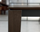 Senso Wood Top and Legs Close-Up