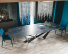 Skorpio Keramik Dining Table - Ardesia Top