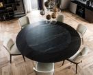 Skorpio Round Ker-Wood Dining Table - Top View
