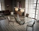 Skorpio Glass Dining Table - Glass Top