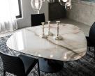 Skyline Round Keramik Dining Table