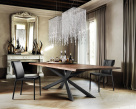 Spyder Wood Dining Table - Angled View
