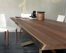 Spyder Wood Dining Table - Natural Edge