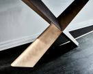 Terminal Keramik Premier Console Table - Metal Legs