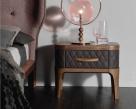 Tiffany Upholstered Nightstand