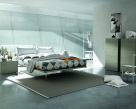 Puma White Modern Bed