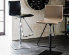 Toto Leather Bar Stool