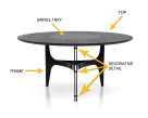 Universe Ring Dining Table - Description