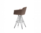 Flaminio Carver Swivelling Bar Stool by Cattelan Italia