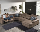 Valery Large Leather Sofa