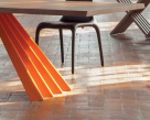 Flare Dining Table - Base View