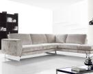 Vivid Fabric Corner Sofa