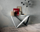 Westin Glass Console Table