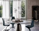 Yoda Keramik Round Dining Table - Cattelan Italia