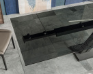 Zeus Drive Fume Glass Dining Table
