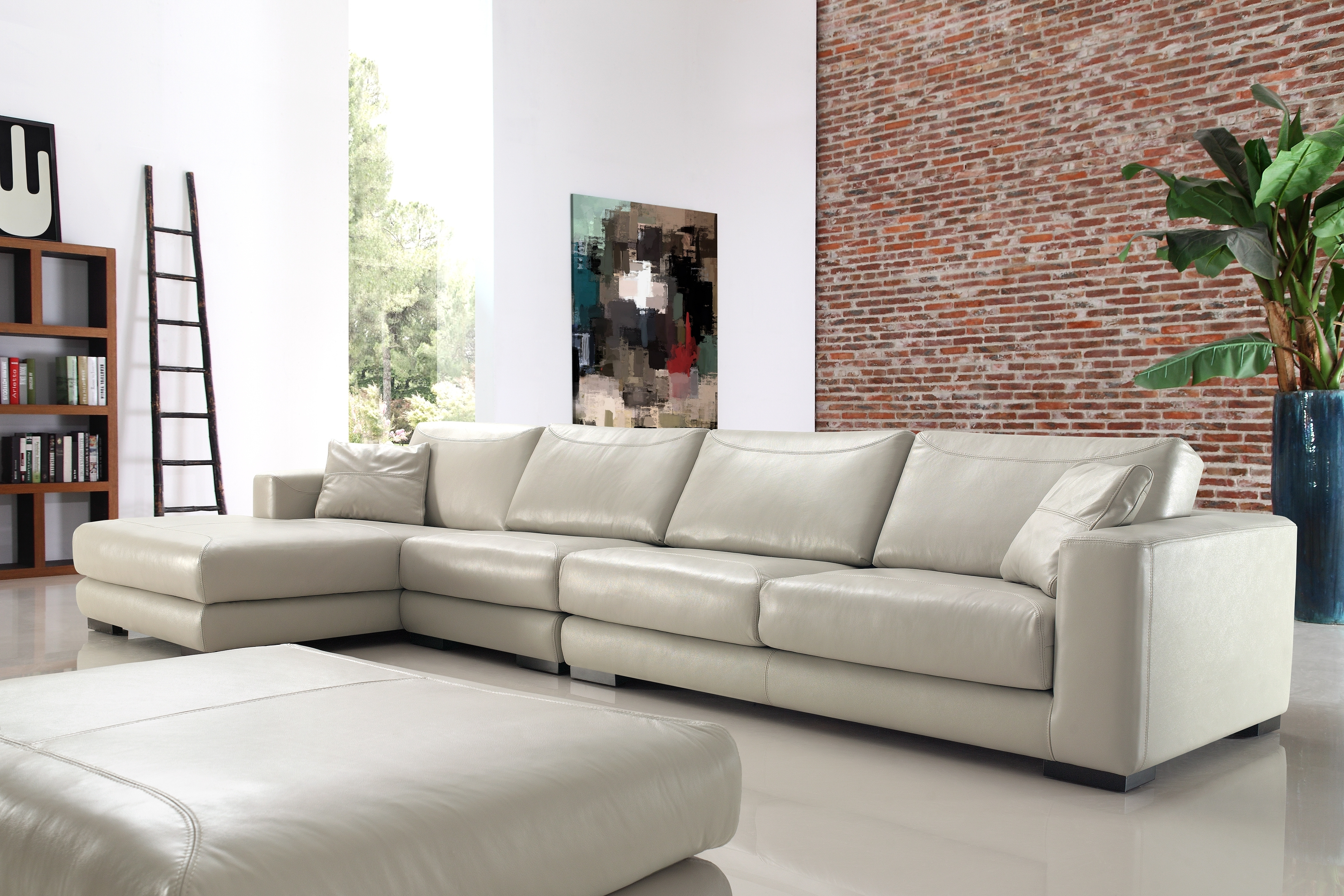 Buy Lexus Leather Corner Sofa Online In London Uk