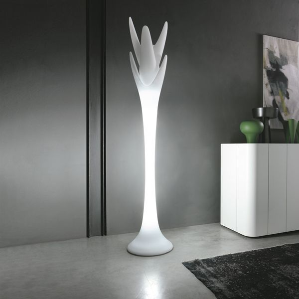 Viking White Floor Lamp