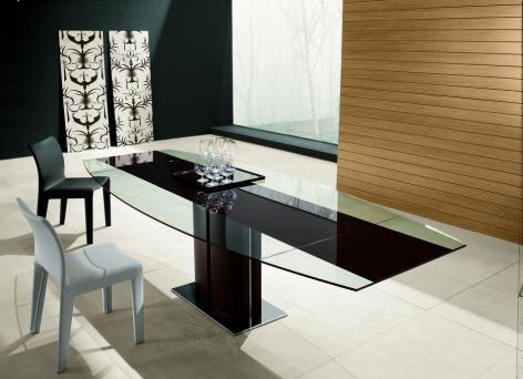 Rodeo Drive Extending Glass Table - SOLD