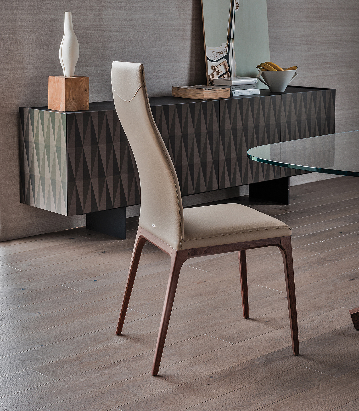 Arcadia High Back Dining Chair