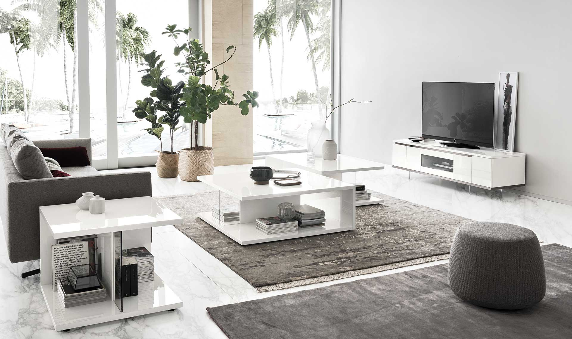 Isla White Gloss Coffee Table