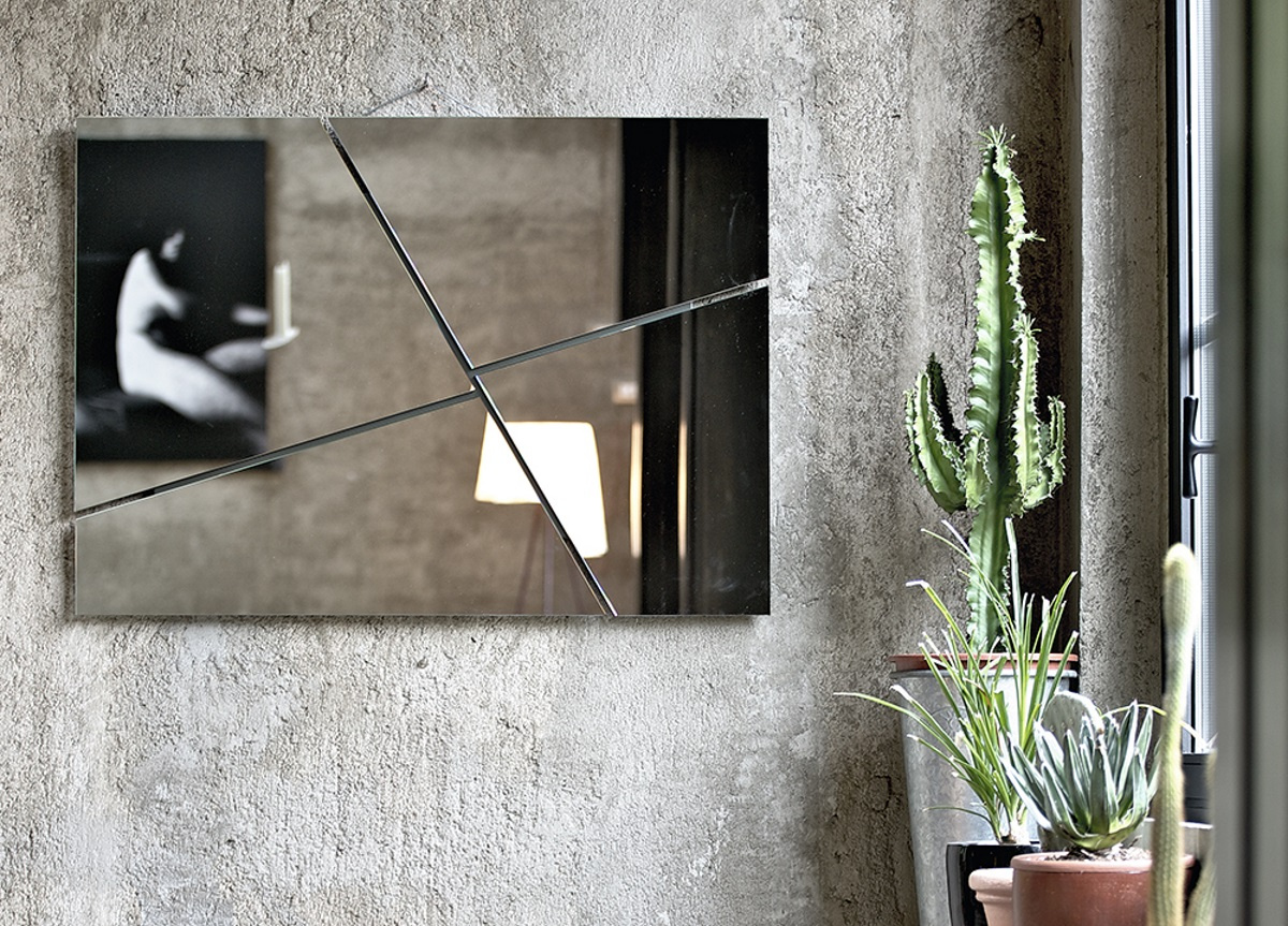 Break Wall Mirror