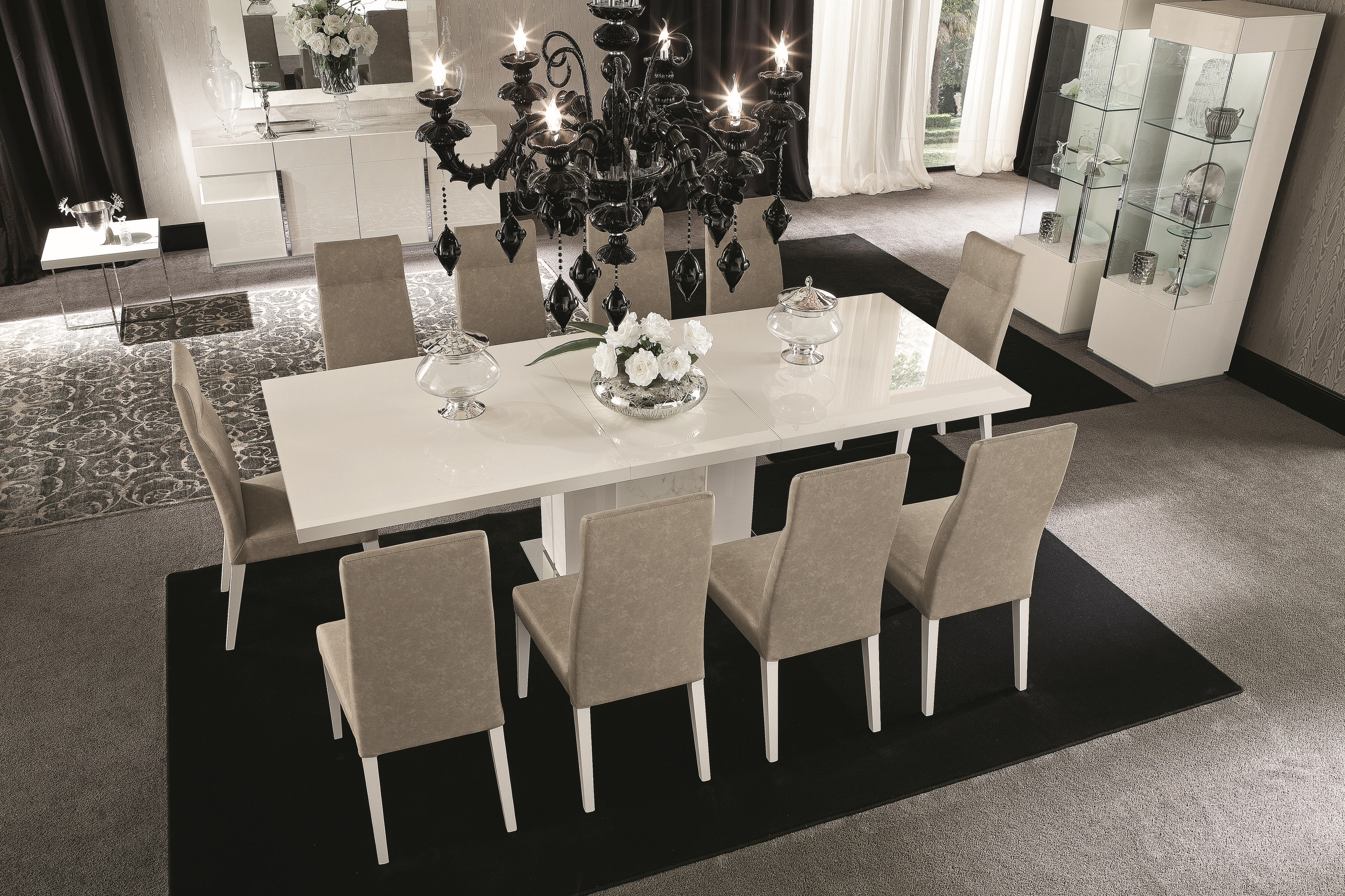 Canova Dining Table and 4 Chairs