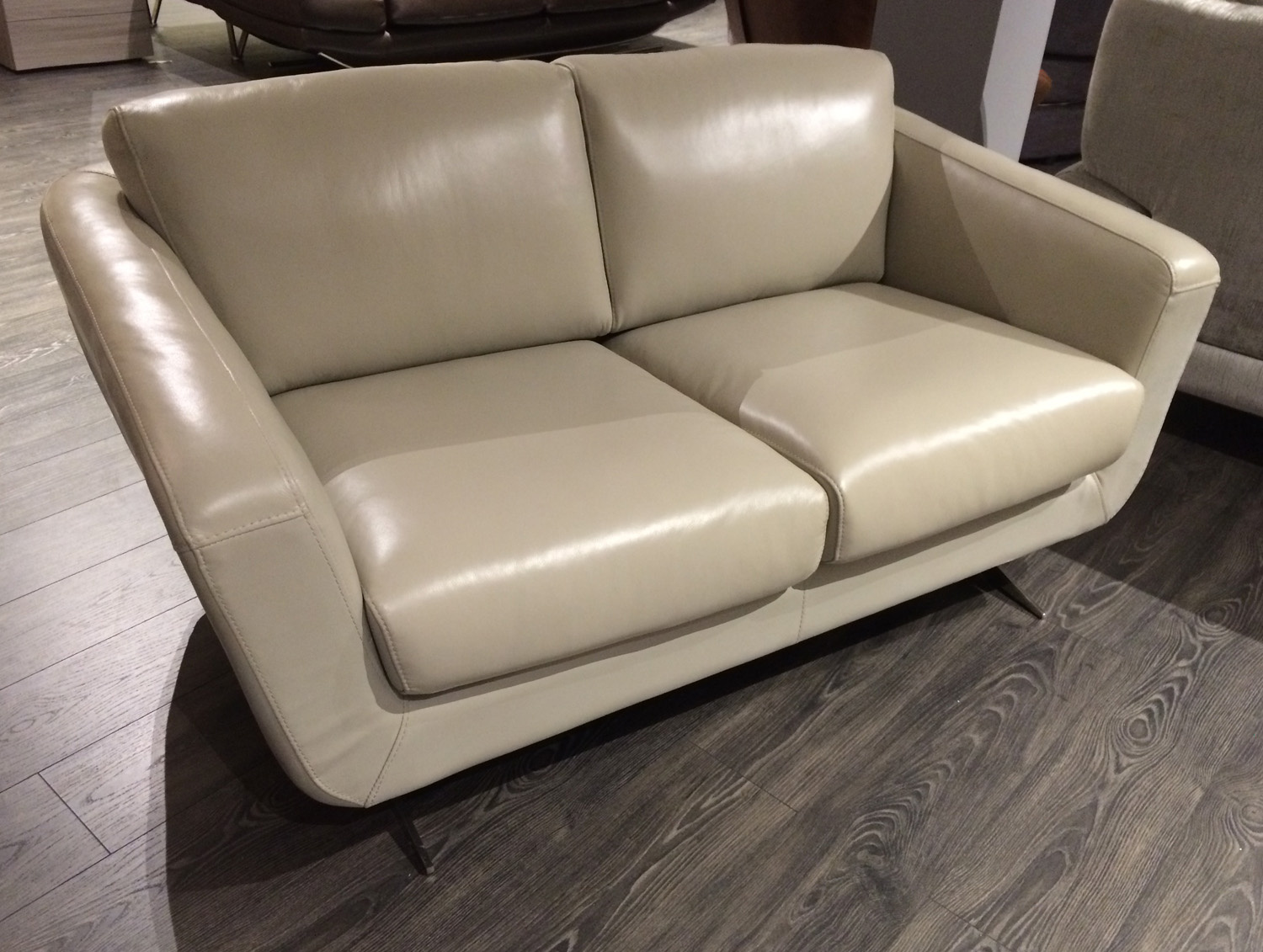 Caruso 2 Seater Grey Sofa - EX DISPLAY
