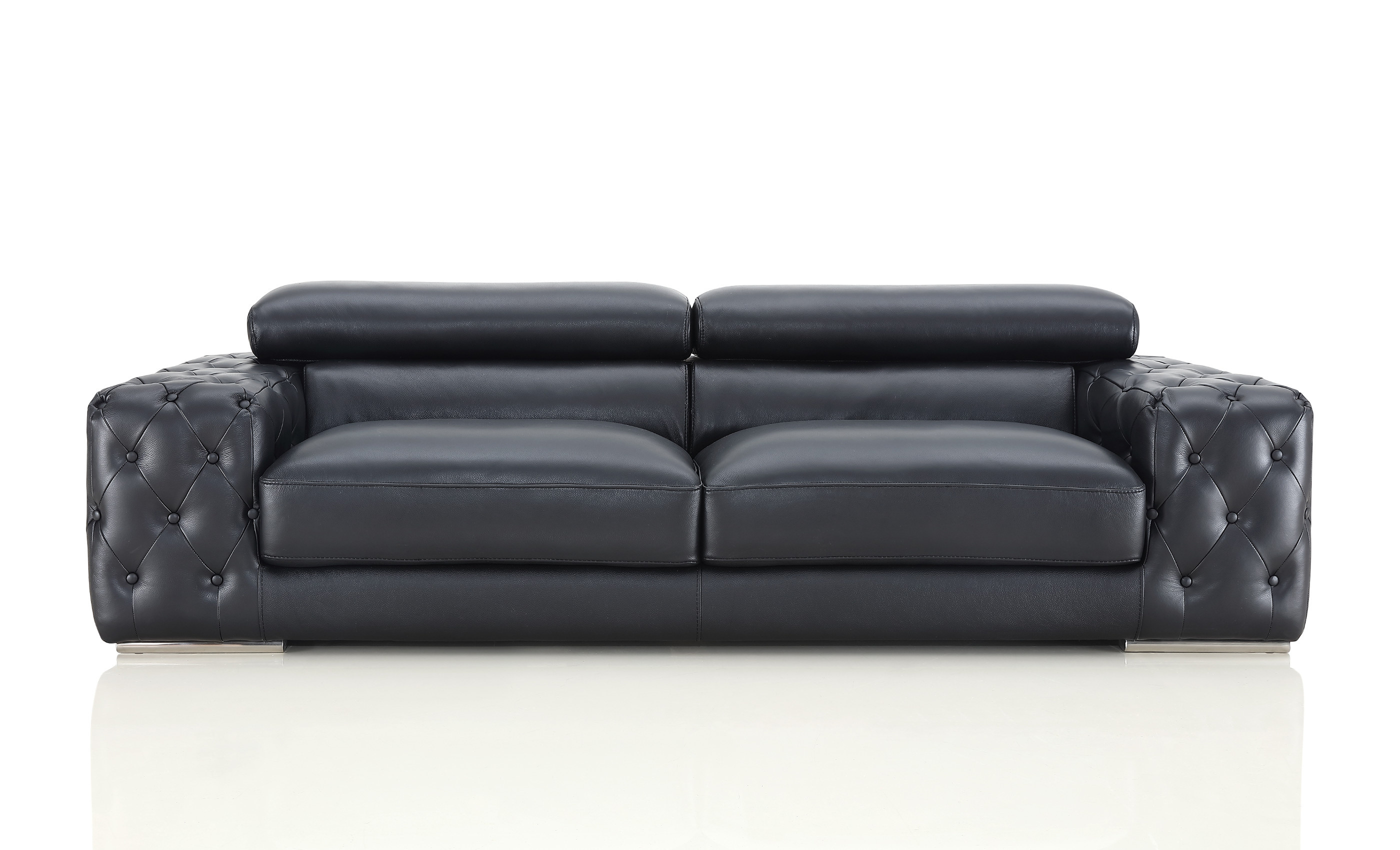 Chanelle Leather Sofa
