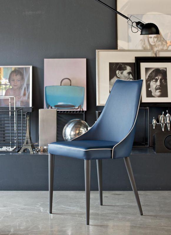 Clara Dining Chair - Metal Leg
