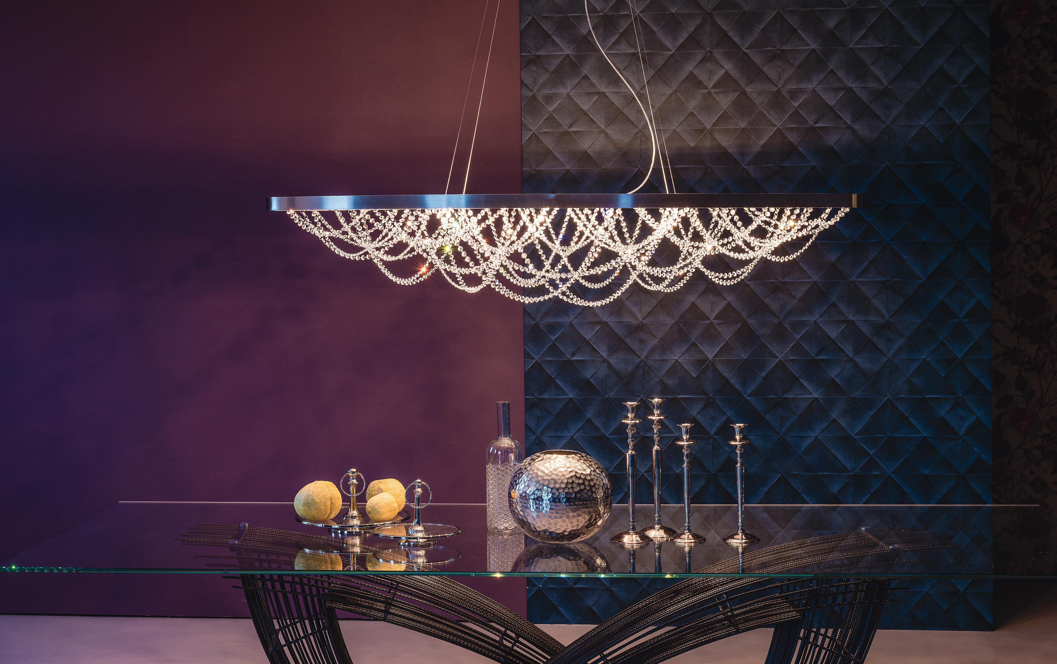 Cristal Ceiling Light