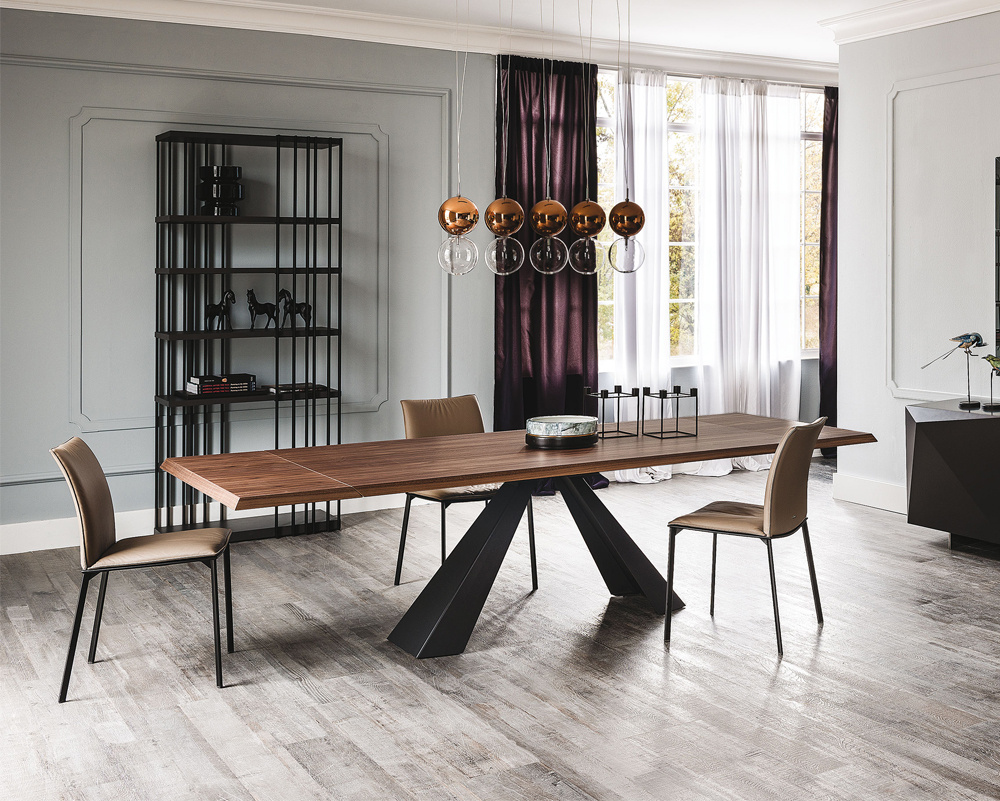 Edward Drive Wood Extending Table