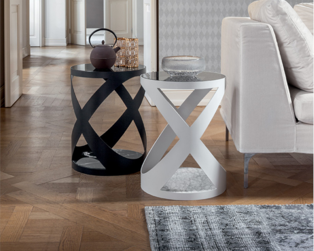 Flame Side Table